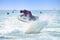 Stock Image : Jet Ski Freestyle Competition