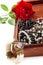 Stock Image : Jewelry in box