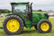 Stock Image : John Deere 6125R Farm Tractor