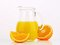Stock Image : Jug of orange juice
