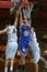 Stock Image : Kaposvar - Zalaegerszeg basketball game