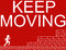 Stock Image : Keep Moving