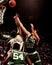 Stock Image : Kevin McHale, Center, Boston Celtics