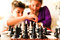 Stock Image : Kids playing Chess
