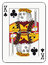 Stock Image : King of clubs