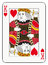 Stock Image : King of hearts