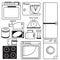 Stock Image : Kitchen appliances