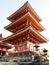 Stock Image : Kiyomizu temple at Kyoto in Japan