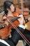 Stock Image : Klasyczny instrumentu odtwarzacz muzyczny skrzypce