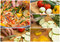 Stock Image :  Kolaż gotować Ratatouille