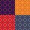 Colorful Geometric Seamless Pattern Set