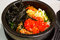 Stock Image : Korean rice with vegetable