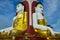Stock Image : Kyeik Pun Buddha Image.