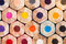 Stock Image :  Lápices del color