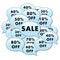 Stock Image : La venta agrega el icono