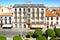 Stock Image :  La vieja arquitectura del vintage de la ciudad en Ávila