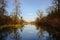 Stock Image : Lake in autumn