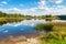 Stock Image : Lake. Estonia