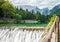 Stock Image : Lake Fusine in the Italian Alps