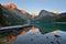 Stock Image : Lake O'Hara at sunset