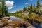 Stock Image : Lake on Opabin Plateu