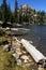 Stock Image : Lake and Uinta mountains