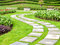 Stock Image : Landscaping in the garden
