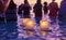 Stock Image : Lantern Floating Festival