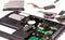 Stock Image : Laptop disassembling