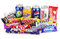 Stock Image : Large collection of junk food