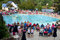Stock Image : Large Crowd Of Parents Watches Swim Meet
