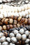 Stock Image : Large Wooden Beads