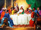 Stock Image : Last Supper