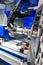 Stock Image : Lathe, CNC milling
