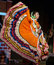 Stock Image : Latina Lady dancer in traditional dress