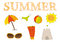 Stock Image : Lato ikony