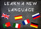 Stock Image : Learn a new language