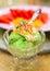 Stock Image : Lemon lime ice cream