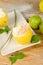 Stock Image : Lemon sorbet