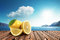 Stock Image : Lemon in the sun