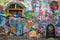 Stock Image : The Lennon Wall Prague