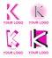 Stock Image : Letter K logo