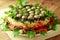 Stock Image : Lettuce from vegetables