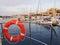 Stock Image : Life buoy