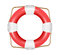 Stock Image : Lifesaver icon isolated.