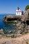 Stock Image : Lime Kiln Lighthouse, USA