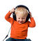 Stock Image : Little boy with headphones