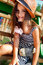 Stock Image : Little girl on playground
