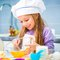 Stock Image : Little girl  preparing cookies