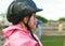 Stock Image : Little jockey